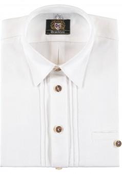 Trachtenhemd Lennart weiß