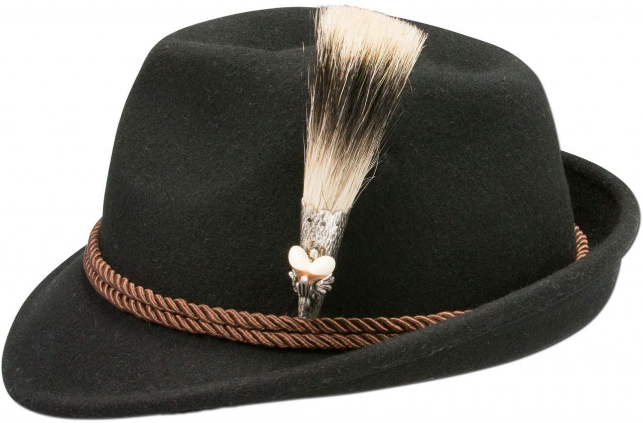 Traditional hat chamois black