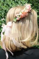 Vorschau: Haarkranz Fairytale in Apricot