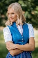 Preview: Dirndl Marietta blau