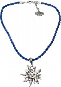 Trachtenkette Amelie blau