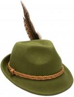 Trachtenhut Filzhut grün Viola