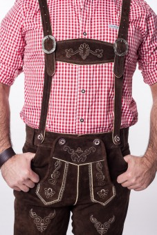 Lederhosen, dark brown