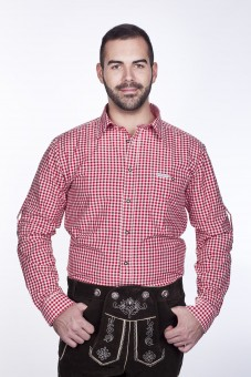 Trachtenhemd Rot