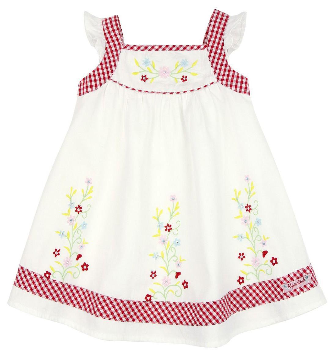 Traditionele jurk wit