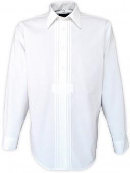 Trachtenhemd Milano weiß