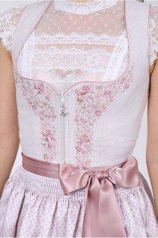 Dirndl Mailina rosa 60cm
