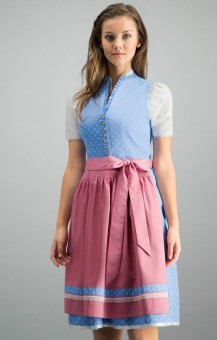 Dirndl Britta in light blue