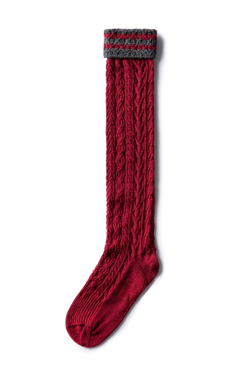 Strümpfe rot