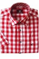 Vorschau: Herrenhemd Hartmut rot