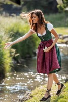 Preview: Dirndl Aya grün