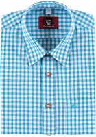 Vorschau: Trachtenhemd Bertl türkis-kariert