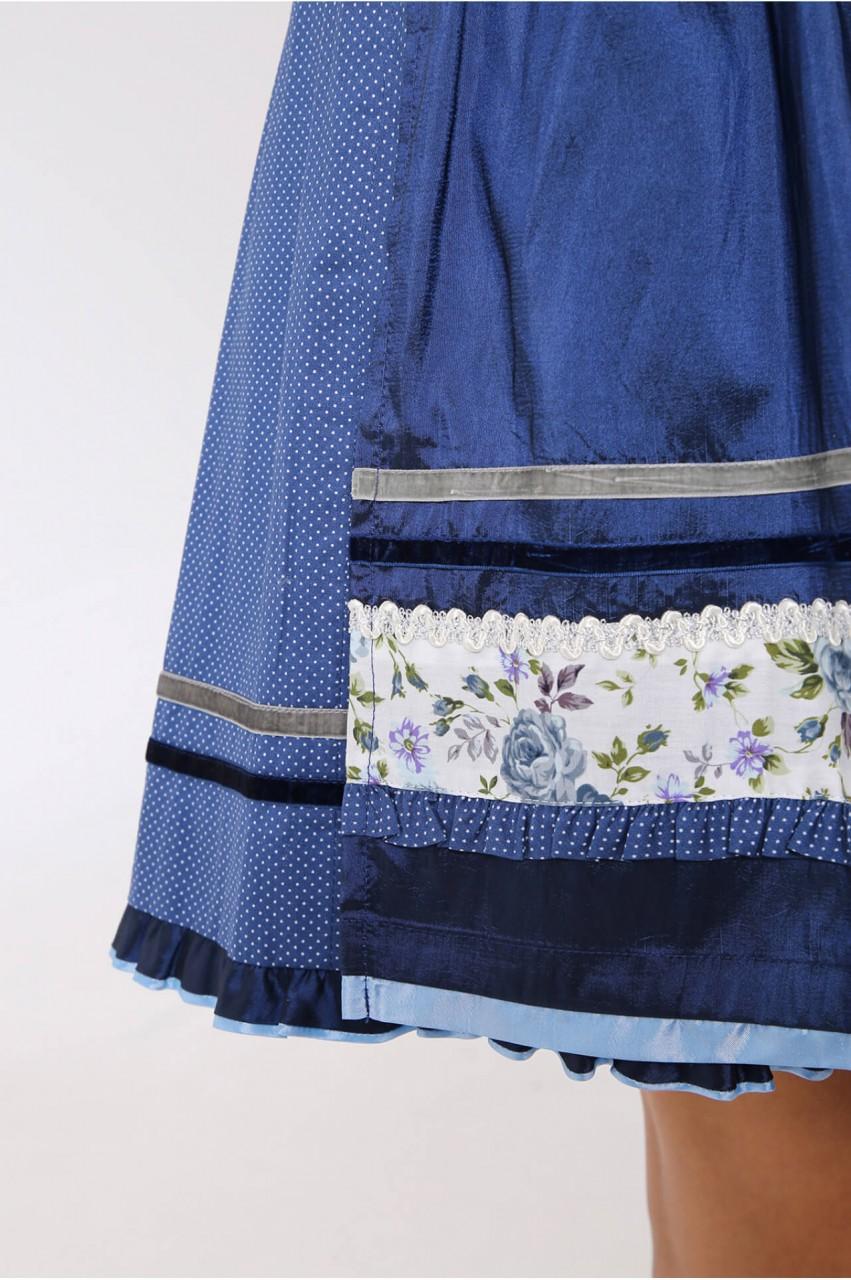 Dirndl Blue Roses 50 cm