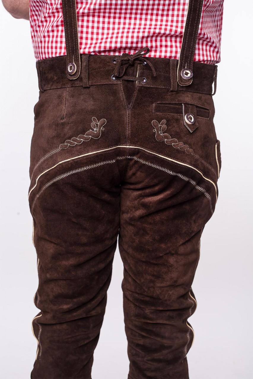 Lederhosen, dark brown