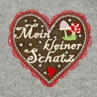 Vorschau: Fleeceoverall 'Mein kleiner Schatz' (Baby Strampler)