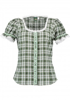 Ladies blouse Gilli green