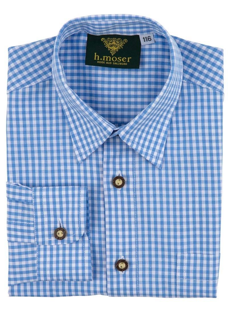 Kinderhemd Francesco hellblau
