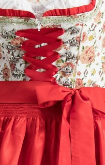 Dirndl Astoria in red