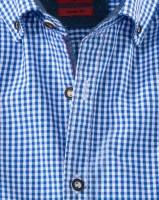 Vorschau: Olymp Hemd Trachtenhemd blau/weiss