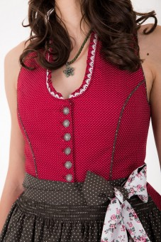 Dirndl Red Daisy