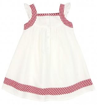 Trachtenkleid weiß