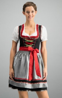 Dirndl Patty in black