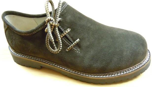 Haferl schoenen Georg donkerbruin