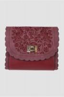 Vorschau: Trachtentasche Blümchenspiel rot