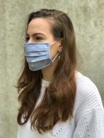 Vorschau: Mund-Nasen-Maske Silver