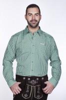 Vorschau: Trachtenhemd Dunkelgrün
