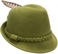 Vorschau: Filz-Trachtenhut Mia grün
