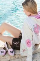 Vorschau: Lederhose Pink Bloom