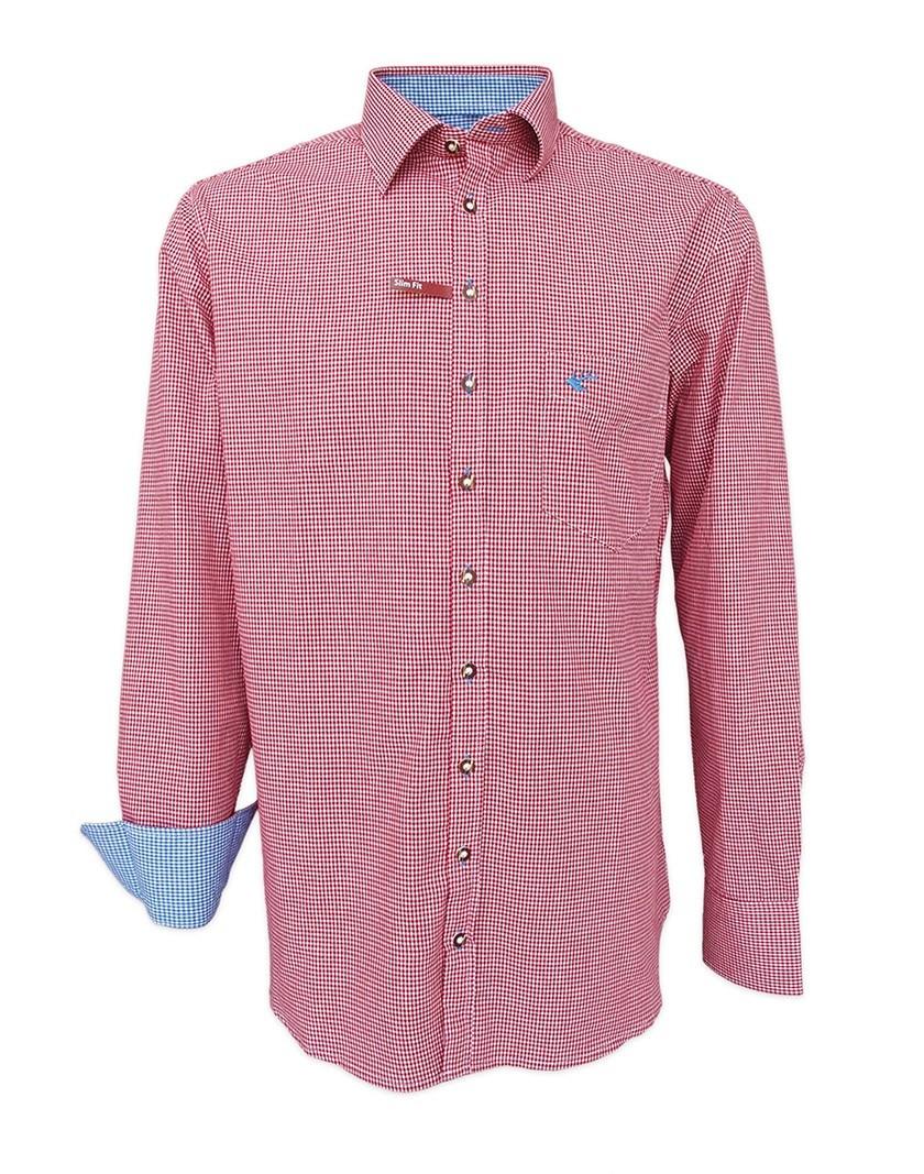 Trachtenhemd Chuck rot