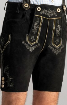 Lederhose Beppo schwarz