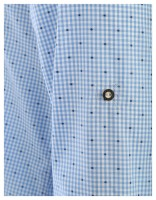 Preview: Trachten Shirt Olymp, blue-white checked