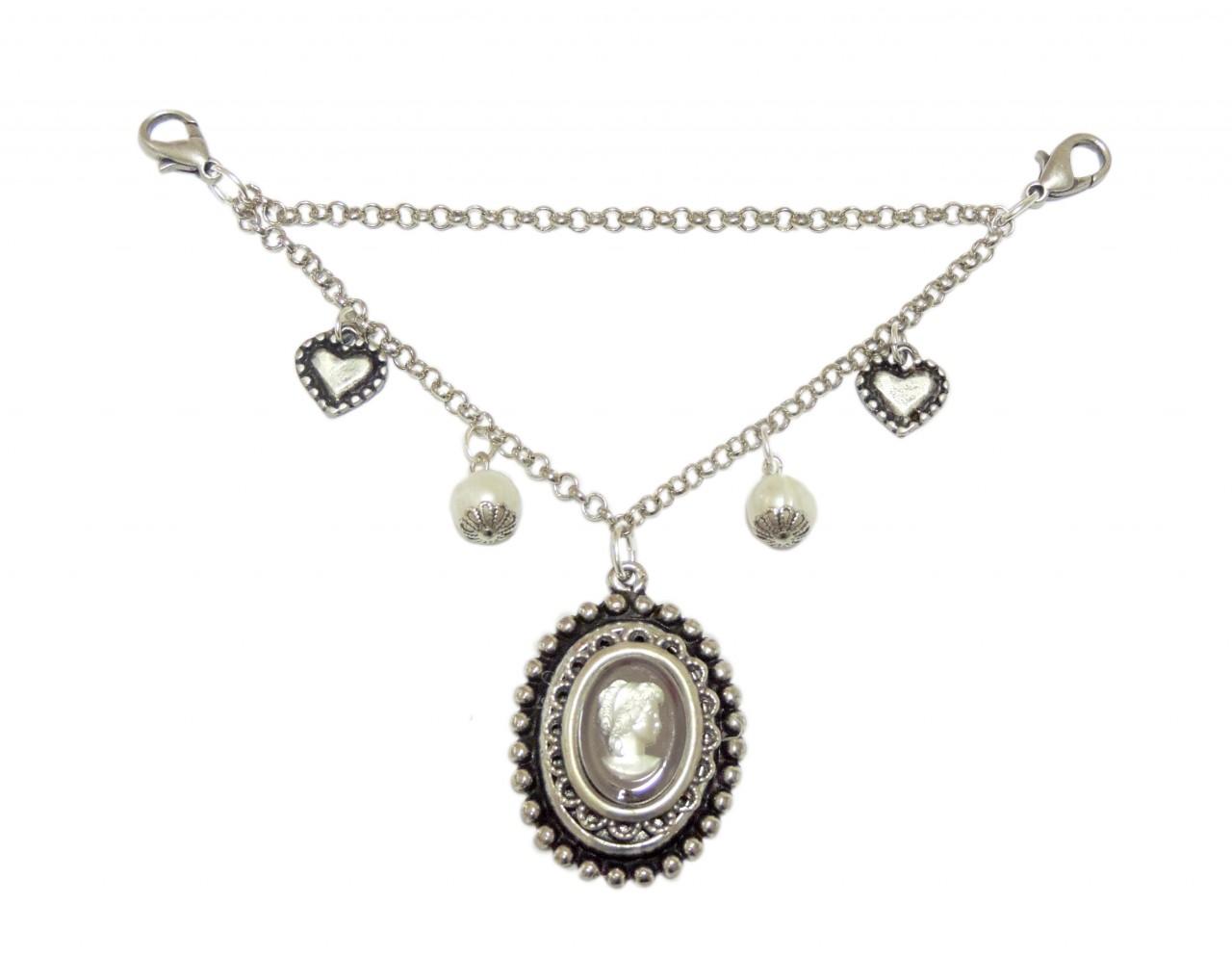 Damen Charivari mit Silber Amulett