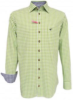 Trachtenhemd Loras hellgrün