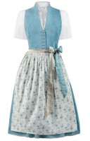 Preview: Dirndl Natalia in smoke blue
