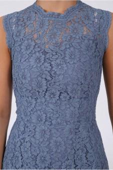 Kleid Megan blau
