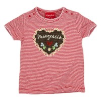 Preview: T-Shirt geringelt 'Prinzessin'