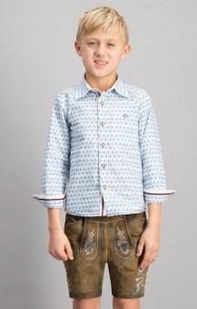 Trachtenhemd Benny für Kinder
