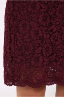 Vorschau: Kleid Megan bordeaux