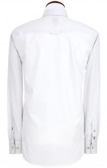 Koszula męska Askot biało-zielona
