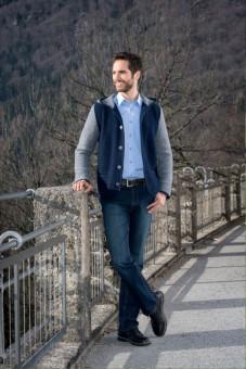 Trachtenhemd Lorenzo hellblau
