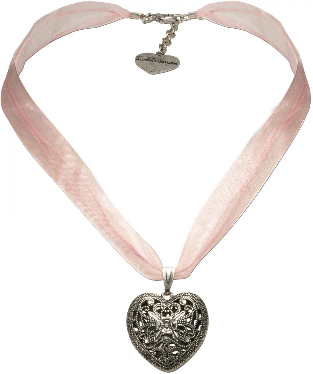 Organza Trachtenkette Viktoria rosé