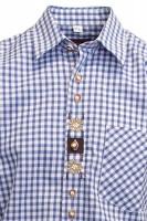 Vorschau: Trachtenhemd Samwell hellblau