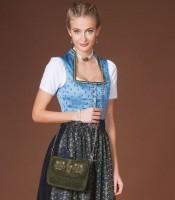 Vorschau: Trachtentasche mit Verzierung grün