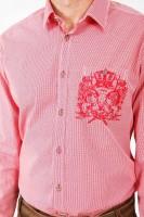 Vorschau: Trachtenhemd Lio rot