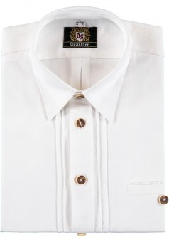 Trachtenhemd Gunnar weiß