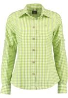 Vorschau: Trachtenhemd Bertl hellgrün-kariert